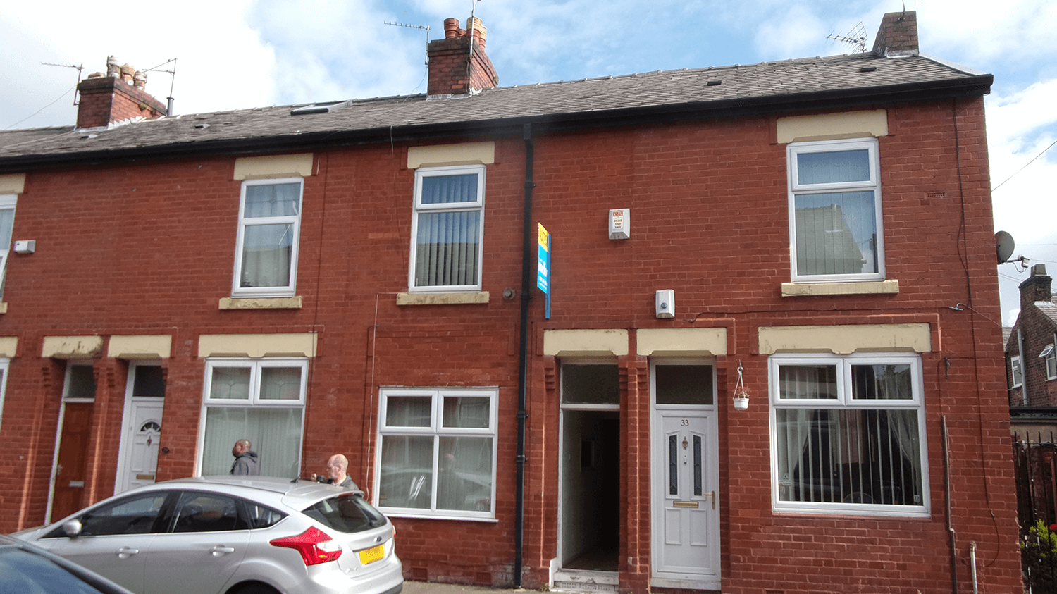 Greater Manchester terraced home
